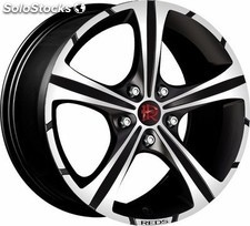 Llanta reds black knight 7,5X17 ET35 4X108 black matt, polished