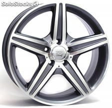 Llanta wsp amg capri new size 2008 8.5x18.0 ET30 5X112 66,6 anthracite polished