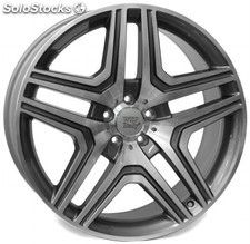 Llanta wsp amg nero 10.0x21.0 ET46 5X112 66,6 anthracite polished