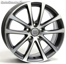 Llanta wsp eos Riace 6.5x16.0 ET47 5X112 57,1 anthracite polished