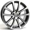 Llanta wsp eos Riace 8.0x18.0 ET45 5X112 57,1 anthracite polished