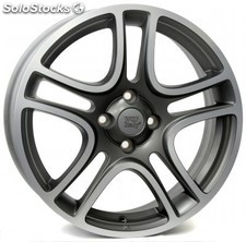 Llanta wsp erato 6.0x16.0 ET45 4X100 56,6 matt grey polished