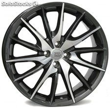 Llanta wsp FiRe MiTo 7.0x17.0 ET37 4X100 56,6 anthracite polished