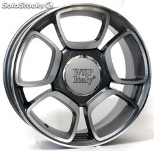 Llanta wsp forio 7.0x17.0 ET37 4X100 56,6 anthracite polished
