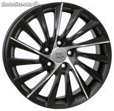 Llanta wsp giulietta 7.5x17.0 ET41 5X110 65,1 dull black polished