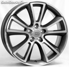 Llanta wsp moon 8.0x18.0 ET43 5X110 65,1 anthracite polished