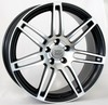 Llanta wsp S8 cosma two 8.5x19.0 ET32 5X112 66,6 black polished