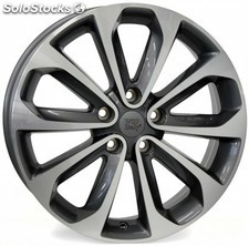 Llanta wsp vulture 6.5x17.0 ET40 5X114,3 66,1 anthracite polished