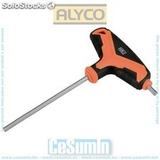 Llave allen mango en T bimaterial HR High Resistance 5 mm - ALYCO - Re