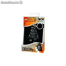 Llavero linterna lego led star wars darth vader