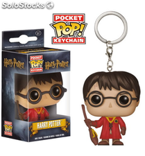 Llavero Pocket Pop Harry Potter : Harry Quidditch