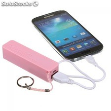 Llavero power bank 2600 mah