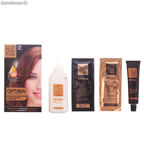 Llongueras OPTIMA hair colour #7.24-almond blond