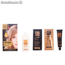 Llongueras OPTIMA hair colour #9.1-very light blond cendre