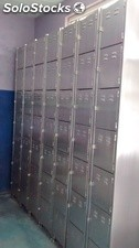 lockers de acero inoxidable