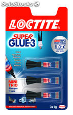 Loctite super glue 3 mini trio