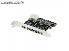 Logilink pci Express Card, 4x usb 3.0 (PC0057A)