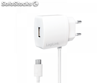Logilink usb ac Adapter with Micro-usb-Cable, 1x usb-Port, 10W (PA0146W)