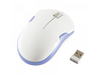 Logilink Wireless optical 2.4 GHz Mouse, 1200 dpi, White/Blue (ID0130)
