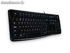Logitech K120 usb qwertz German Black 920-002489