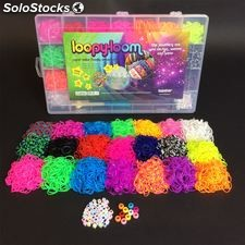 Loopy Loom 4200 Band 50 Letters 10 Beads Set with no loom