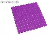 Loseta de resistencia media FORTELOCK LIGHT textura diamante, color violeta