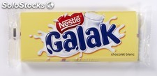 Lot 2X100G tablette chocolat galak nestle