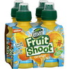 Lot 4X20CL fruitshoot orange teisseire