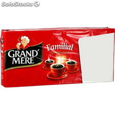 Lot 4X250G cafe moulu familial grand mere