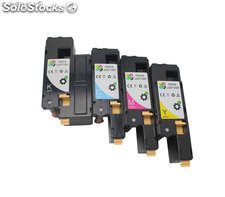 Lot de 4 cartouches Toner Phaser 6020/6022/6025/6027