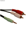 Lot de 5 cables jack 3.5mm vers rca