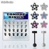 Lot de Piercing Langue 316l
