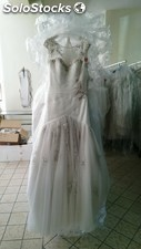 Lot de robes de mariees haute couture