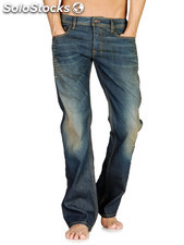 Lot jeans pantalons t-shirts polo chemises homme Diesel Pepe jeans