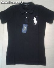 Lot POLO Femme Ralph Lauren Manche Courte Grand Poney