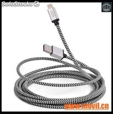 Lote 20 Cables Usb Microusb Tipo Pulsera Android Mayoreo