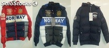 Lote chaquetas geographical norway