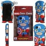 Lote de Cases para Iphone de Superheroes silicon rigido