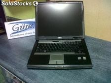 Lote de Portatiles Dell d620 Core 2 Duo 2Gb 80Gb Dvdrw