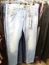 Lote jeans multimarca hombre y mujer