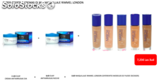 Lote Olay 2 cremas + 1ud maquillaje Rimmel London