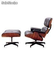 Lounge Chair con ottoman diseño Charles & Ray Eames