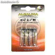 LR03 1.5V AAA Alkaline Battery 4 units (EN61)