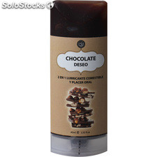 Lubricante comestible chocolate avellanas 45 ml. - secret play - secret beauty -