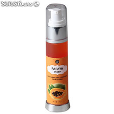 Lubricante comestible papaya