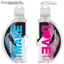 Lubricantes de base acuosa make love 2 x 148ML