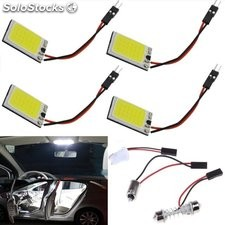 luces de lectura luces intermitentes COB-18SMD panel lámpara interiora coche