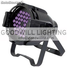 Luces discoteca led par Light 36x3W uv
