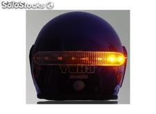 Luces led casco moto