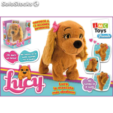 lucy peluche electrico